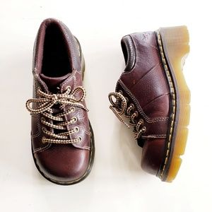Dr. Martens Brown Leather Lace Up Combat Boots W8